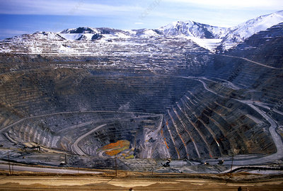 Bingham Canyon Copper Mine in Utah
