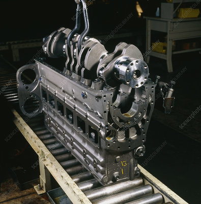 Assembly of the crankshaft