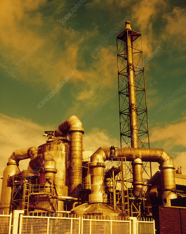 Sulphuric acid plant in Cleveland