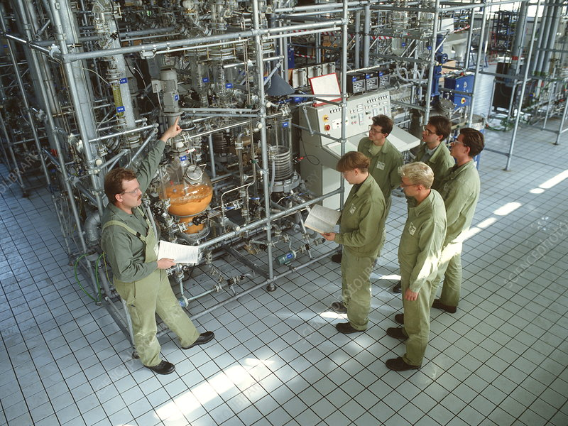 Chemical industry training