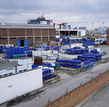 Chemical distribution plant