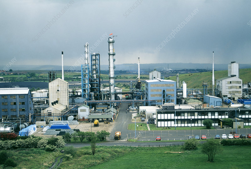 Coalite chemical plant