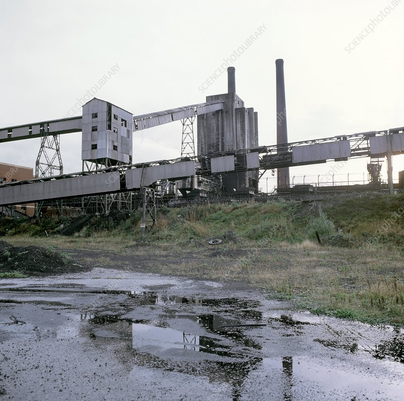 Disused by-product coking plant, UK