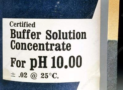 Buffer solution to maintain a constant alkalinity