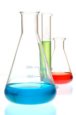 Laboratory chemicals and glassware