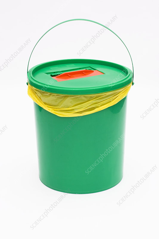 Pharmaceutical waste bucket