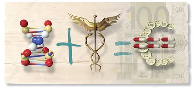 Pharmaceutical profits, artwork