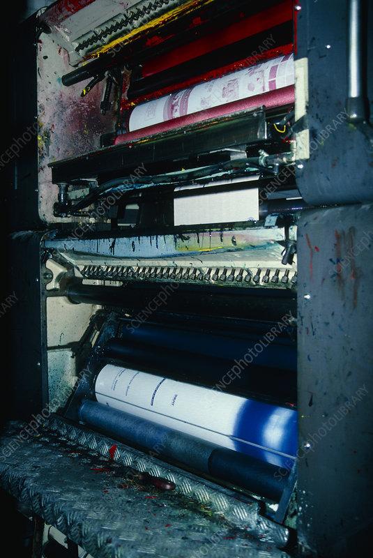 Colour Plates Of A Modern Printing Press