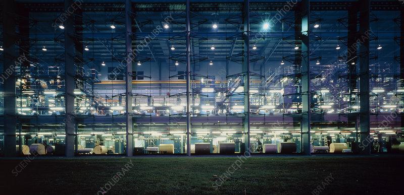 Financial Times printing plant