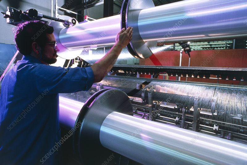 Industrial high speed nylon knitting machine