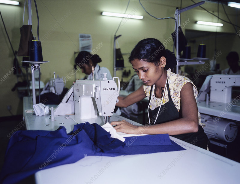 Clothing manufacture