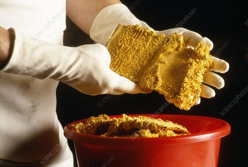 High purity gold