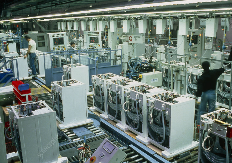 Washing machine manufacture