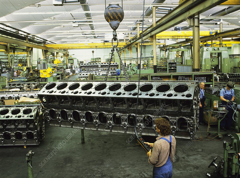 Engine manufacture