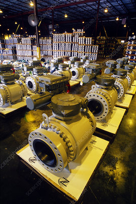 Pipe Valve Manufacturing, Texas Warehouse