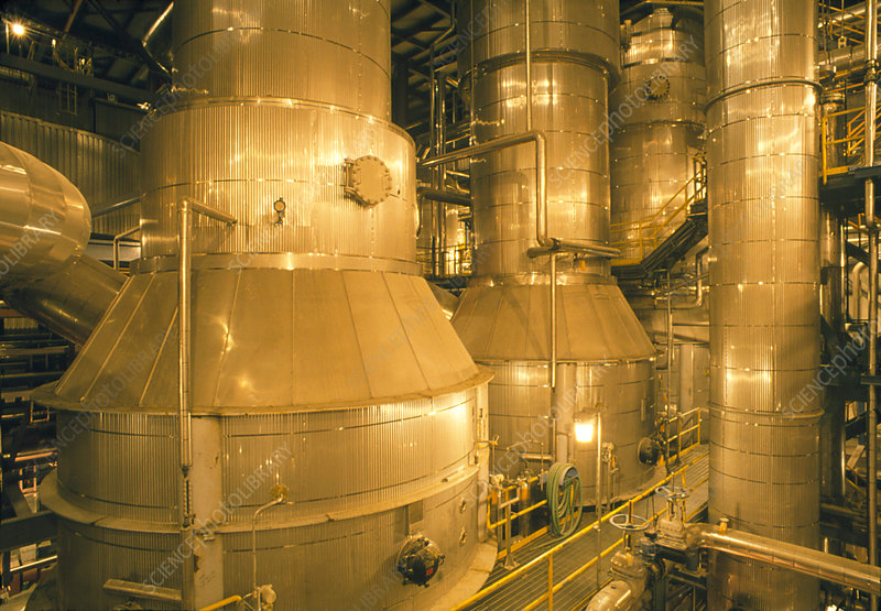 Pulp-digesting plant in paper mill