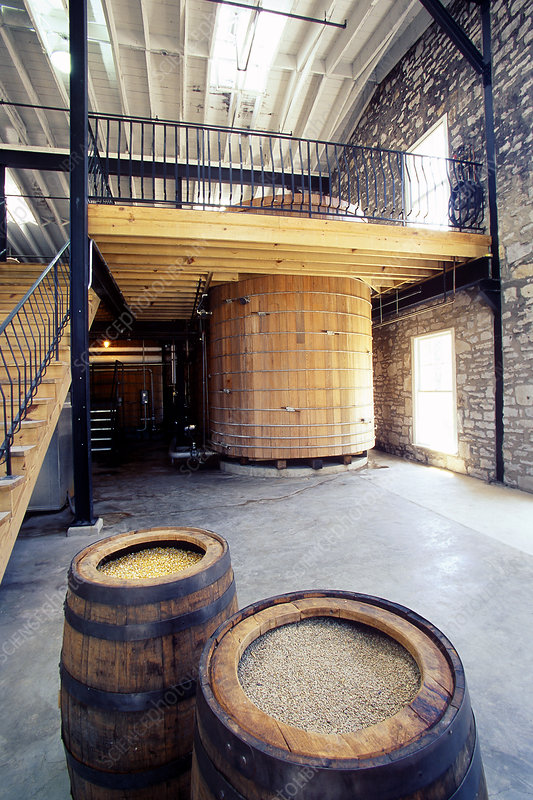 Large fermenting tank, Labrot & Graham, KY