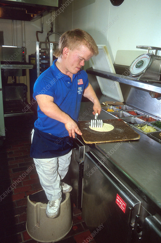 Dwarf Working as a Pizza Chef