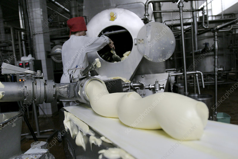 Butter production