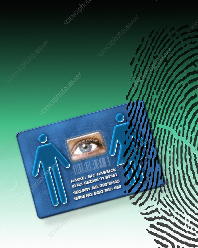 Biometric ID card