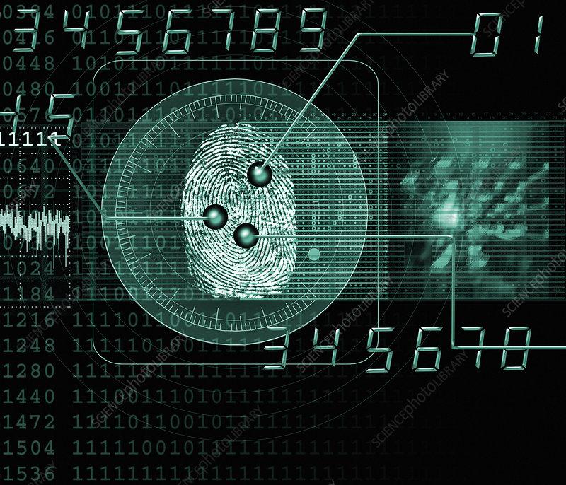 Fingerprint Pattern Forensic Science