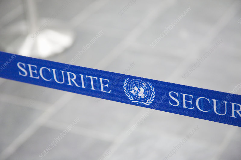 Security belt barrier