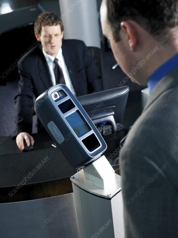 Biometrics facial scanners