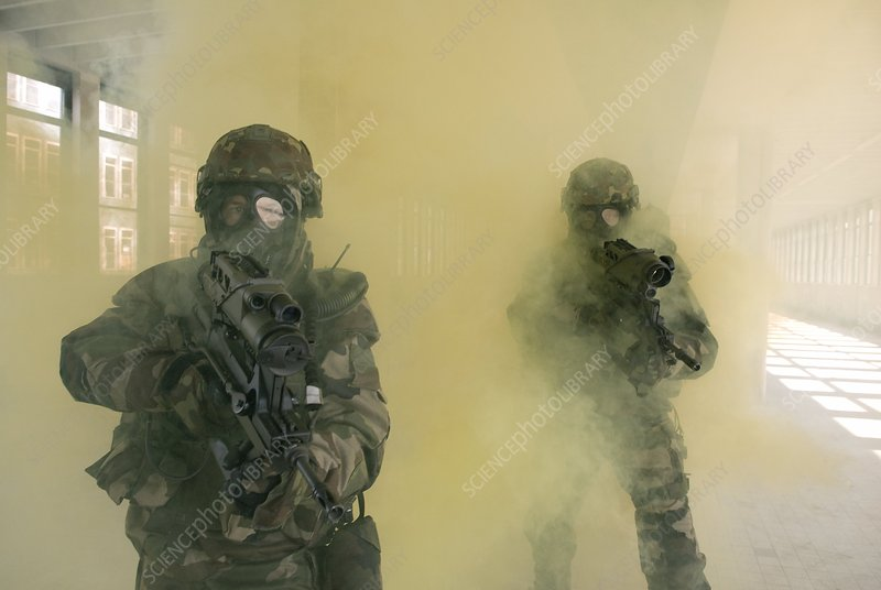 Military gas masks, FELIN system