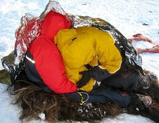 Military arctic survival training