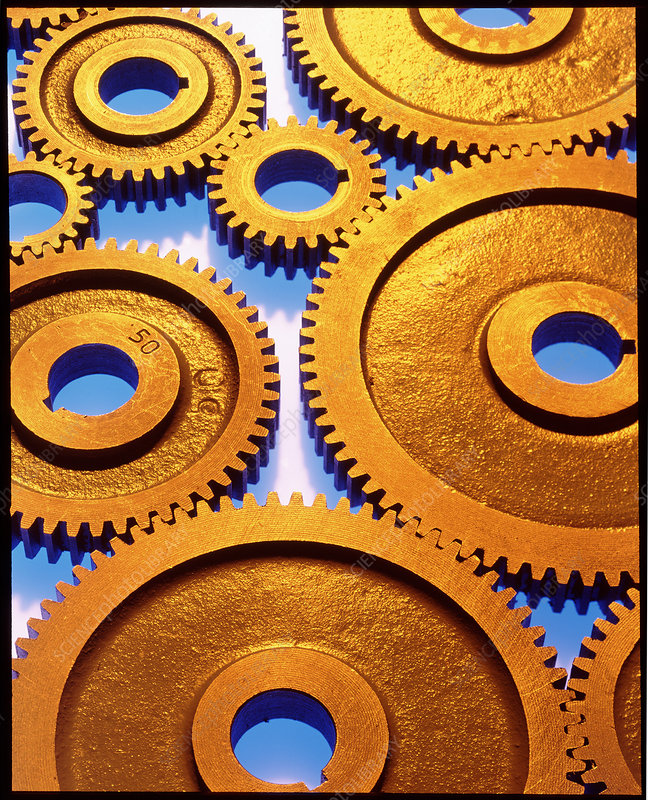 Cogs for use in a gearing system