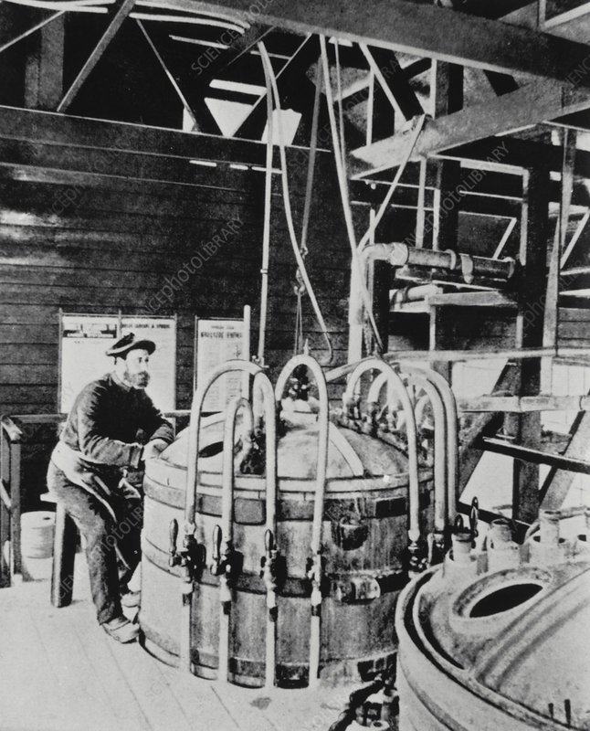 Nitroglycerine manufacture used by Alfred Nobel