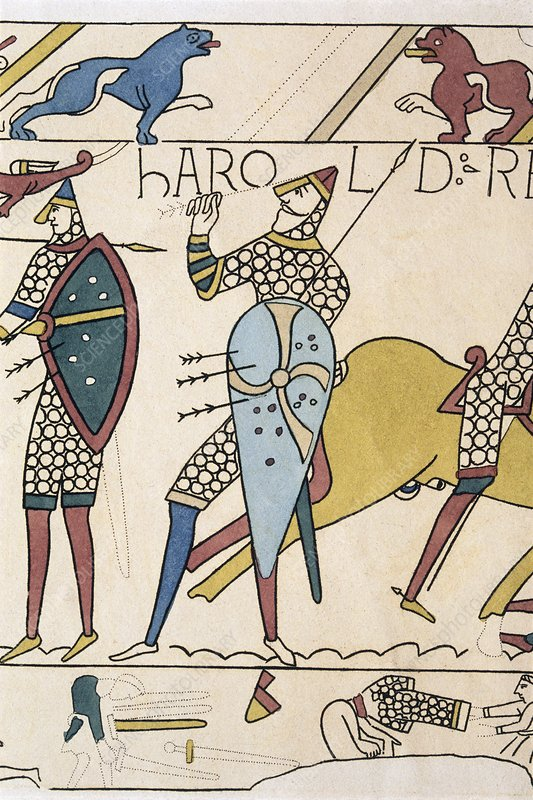 Bayeux Tapestry: King Harold of England i