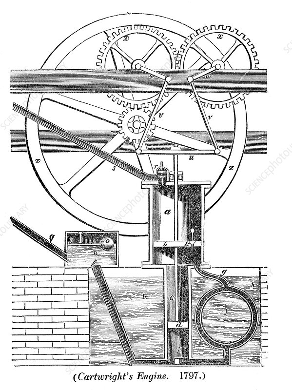 Cartwright's engine