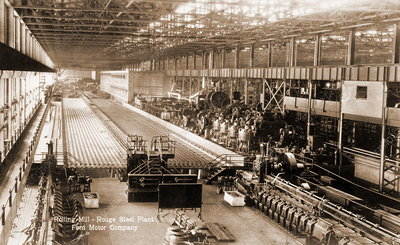Early 20th century steelworks