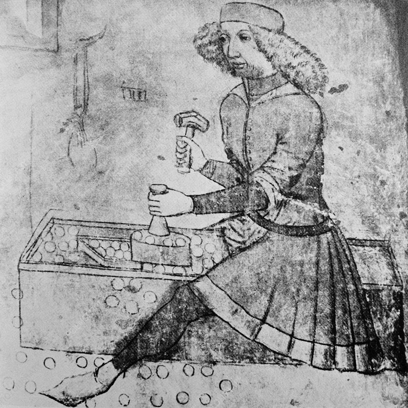 15th century coin-making