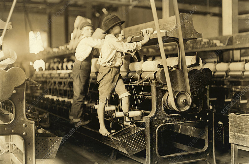 Child labour in America, 1909