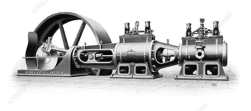 Robey steam engine