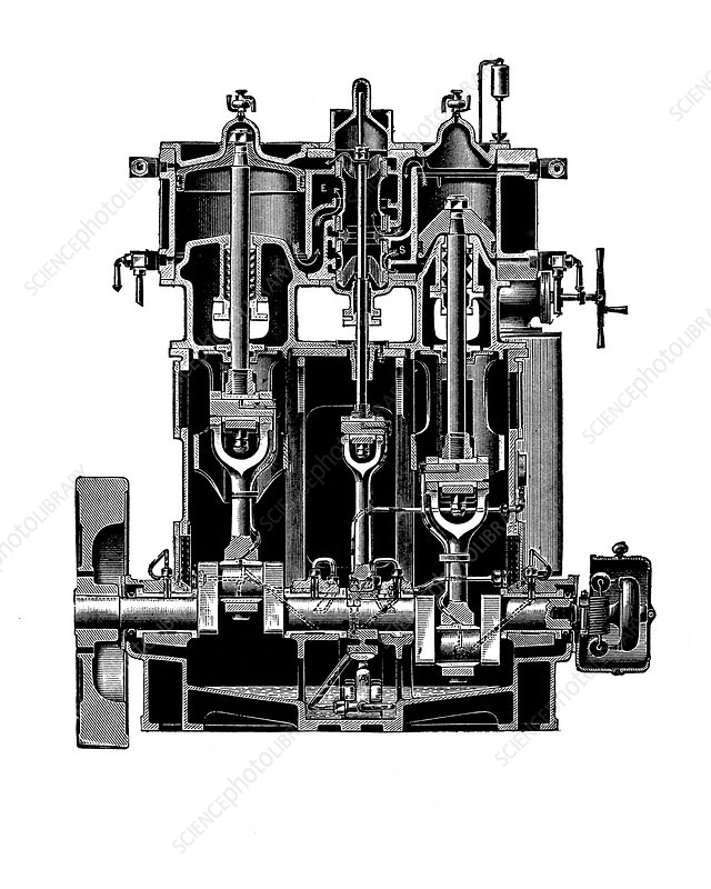 Bellis and Morcom steam engine