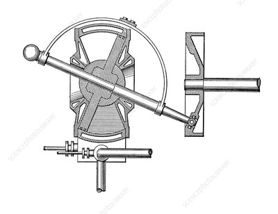 Bischopp rotary steam engine
