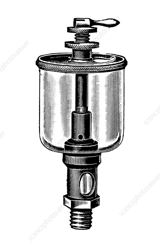 Steam engine lubricator