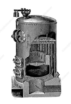 Mathian steam boiler