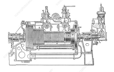 Westinghouse-Parsons steam turbine
