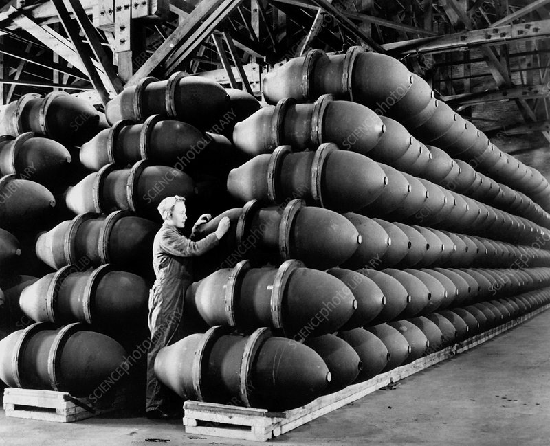 Second World War munitions factory
