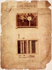 Whitney's cotton gin patent, 1794