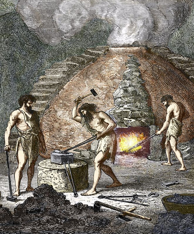 """the origins of the techniques of smelting and steel making It was also capable of being modified by a number of techniques that could make it harder or tougher, both very useful properties for a number of tools and weapons the bloomery process the continental celtic origins of iron making appear to be indicated by the words """"smelt"""" and """"bloom"""", both of which found their way into old english ."""