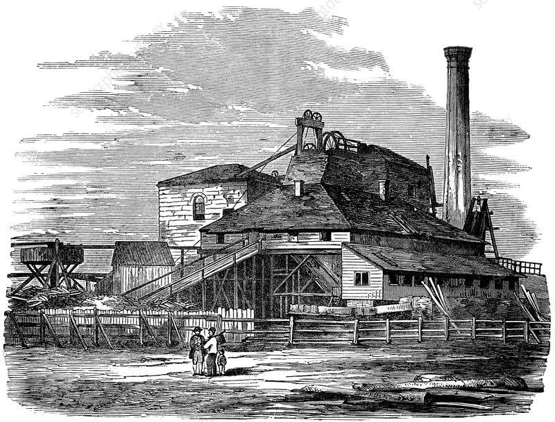Harton Colliery, 19th century coal mine