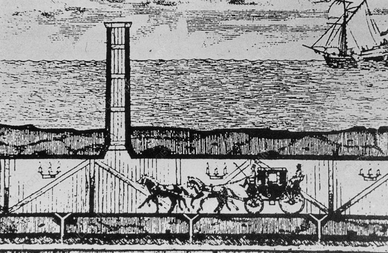 A. Malthieu-Favier's Channel Tunnel scheme of 1802