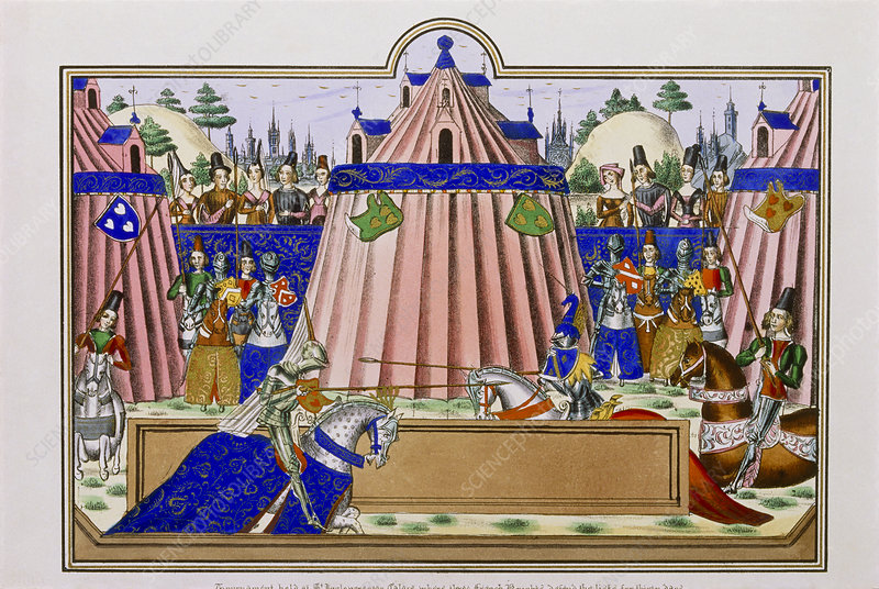 Thread  Imperial Tournament  Preperations   Event for all Medieval Nobles Manuscript
