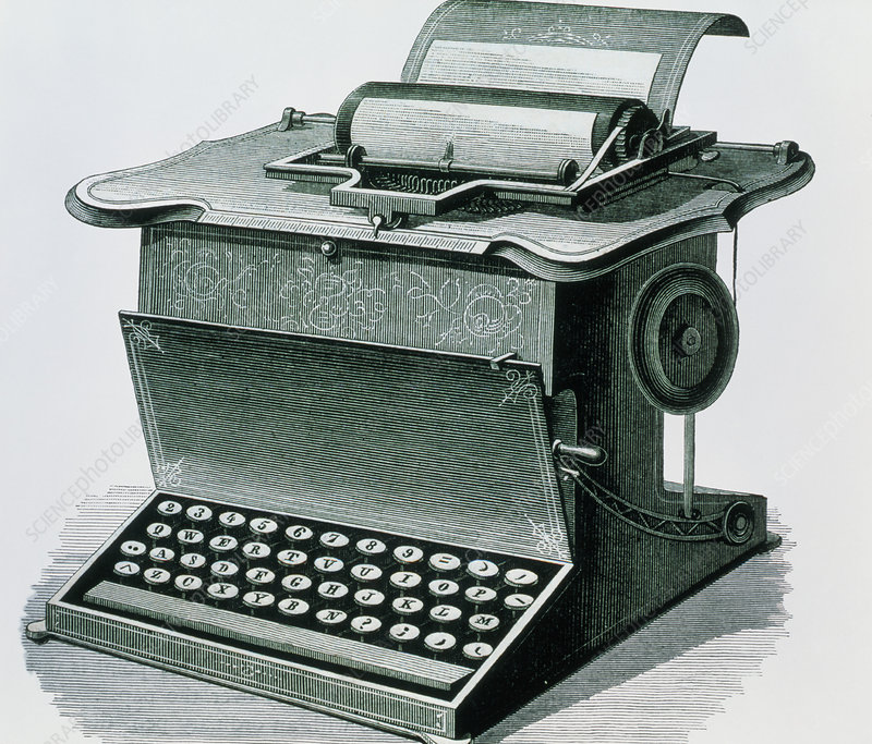 Remington's writing machine