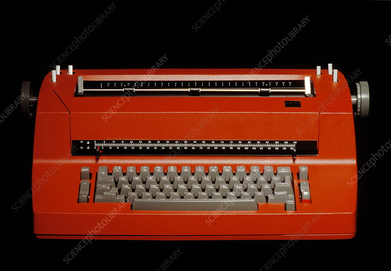 Early electronic typewriter